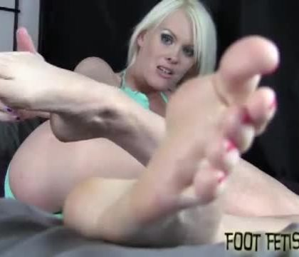 We are going to make your foot fetish dreams come true